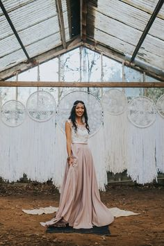 Gypsy Bohemian Wedding Inspiration Stories By Bianca New Zealand Wedding Photographer 0080 Blush Skirt, Gypsy Wedding, Bohemian Wedding Inspiration, Paper Lace, Bohemian Gypsy, Event Styling, White Lace, Vintage Inspired, Gowns