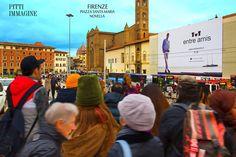 Firenze Piazza Santa Maria Novella adv Pitti immagine