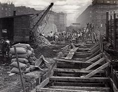Construction of the Metropolitan and District Railway