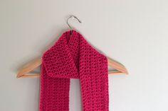 Ireland's Scarf free crochet pattern