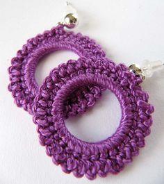 #Crochet earrings