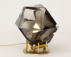 WELLES Double-Blown Glass Desk Lamp — Gabriel Scott