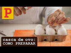 Veja como preparar casquinhas de ovo para decorar e rechear