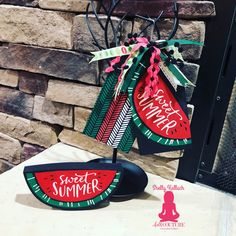 Watermelon Patch, Summer Treats, Finding Yourself, Seasons, Christmas Ornaments, Holiday Decor, Sweet, Couture, Easy