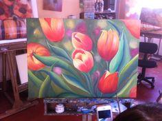 Tulipanes - Cecilia Espinoza