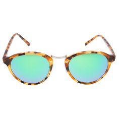 Óculos espelhado Audácia Havana Spektre - verde - Óculos de solcom armação…