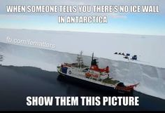 Antartica Is The Edge of The Earth - Flat Earth