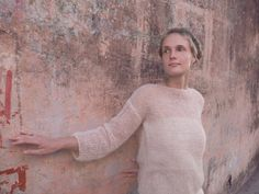 Ultra soft Silk/Alpaca sweater by KnitUsHandmade on Etsy