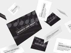 Free Business Cards Mockup by MockupsDesign