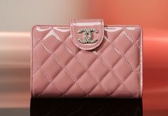 Chanel Quilted Leather Strap Wallet