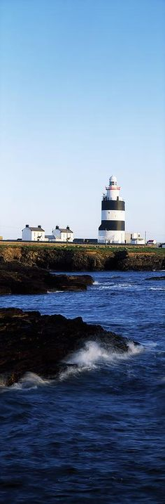 Hook Lighthouse, Co Wexford, Ireland Lighthouse On The Celtic Sea