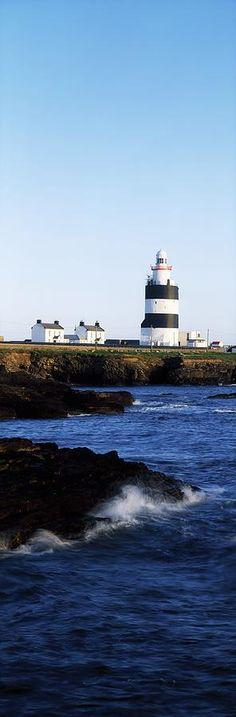 Hook Lighthouse, Co Wexford, Ireland Lighthouse On The Celtic Sea