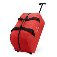 Trolley travel bag made of 600D polyester with zipper compartment. #trolley