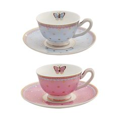 white with red teacups | ... Tea Cups And Saucers With Small Round Plate Base Also Made From White