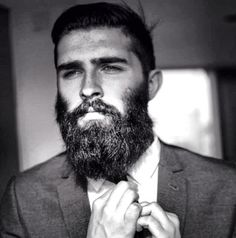Our choice of week - Chris John Millington, a model from Scotland. Now he is living in NYC. He is popular in social networks especially for him beard. Recently it's very trendy. How do you feel about the beards? Great Beards, Awesome Beards, Moustaches, Hairy Men, Bearded Men, Chris Millington, Sexy Bart, Chris John, Beard Suit