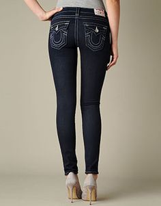 Super Skinny Jeans | Denim Leggings & Jeggings by TRUE RELIGION