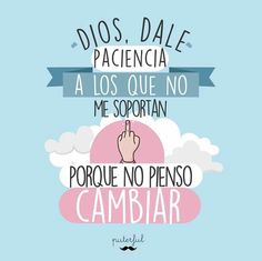 Cool Phrases, Funny Phrases, Funny Note, Quotes En Espanol, Mr Wonderful, Sarcastic Quotes, Julia, Spanish Quotes, Wise Words