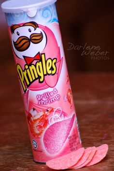4 grilled shrimp 20 weird pringles flavors - The world's most private search engine Pink Love, Pretty In Pink, Pringle Flavors, Photo Grill, Rainbow Food, Pink Foods, Cute Desserts, Weird Food, Grilled Shrimp