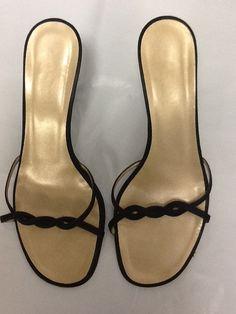 6c84814b6b9 Gucci Black Sexy Sandals Size US 8 Regular (M