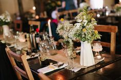 A Pretty, Relaxed and Rustic Spring Time Barn Wedding