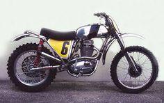 the 1970 BSA B50
