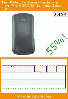 Trust Protective Sleeve - Funda para móvil iPhone 3G/3GS, Samsung Galaxy Ace (Accesorio). Baja 55%! Precio actual 5,40 €, el precio anterior fue de 12,00 €. https://www.adquisitio.es/trust/protective-sleeve-funda-1