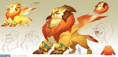 Mais artes do game Gigantic, do estúdio Motiga | THECAB - The Concept Art Blog