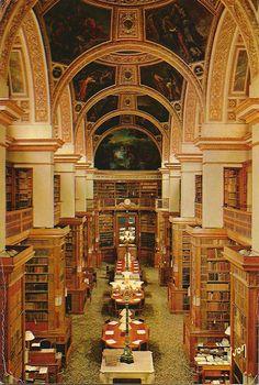350 - Bibliotheque  de L'Assemblée national, plafond Eugène Delacroix