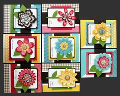 Kim's Card Kits (sold out).Gallery posted to inspire you to create your own...