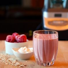 Oatmeal Smoothie - All the healthy goodness of oatmeal in a deliciously creamy smoothie!