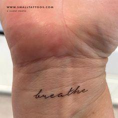 'Breathe' Temporary Tattoo (Set of 3) – Small Tattoos One Word Tattoos, Small Tattoos, Tattoo Set, Take A Breath, New Perspective, Temporary Tattoo, Tattoos For Women, Breathe, Tattoo Quotes