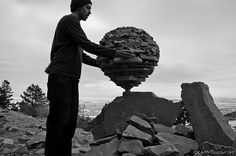 Rock Sculptures by Michael Grab made without any Glue (15 Pictures   Clip)