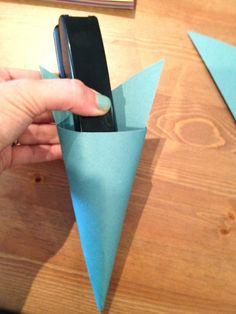 DIY Paper Pastel Decoration