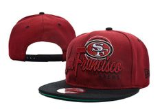 NFL San Francisco 49ers Snapback , wholesale online  $5.9 - www.hatsmalls.com