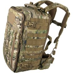 Hazard 4 Officer Backpack in genuine MultiCam camo is available now at Military With spacious main compartment, padded back-carrier pocket, ergonomic shoulder straps & MOLLE webbing throughout. From Find more details at Military online store. Tactical Packs, Tactical Bag, Bullet Vest, Molle Accessories, Molle Backpack, Backpack Organization, Molle System, Bug Out Bag, Tactical Gear