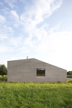 Casa de madera con patio interior,© DI Bernardo Bader