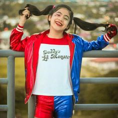 Niana as Harle Quinn Ranz Kyle, Harle Quinn, Siblings Goals, Cute Disney Wallpaper, Youtube Stars, Brother Sister, Youtubers, Lab, Quote