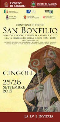"""Italia Medievale: """"San Bonfilio. Monaco, vescovo, eremita tra storia e culto nel IX centenario della morte (1115-2015)"""""""