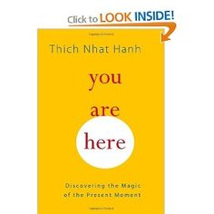 My new favorite Thich Nhat Hanh book. I have tons of notes from this book.