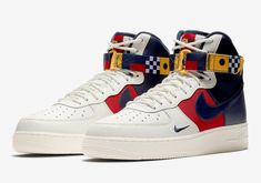 info for eaca4 f488a The Nike Air Force 1 Sets Sail With The Nautical Redux Pack Sneaker Games,  Shoes