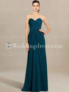 Strapless Beach Bridesmaid Dress BR378