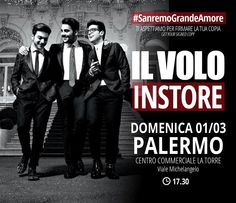 """The guys signing cd's in Palermo Italy for the new cd """"GRANDE AMORE"""""""