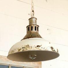 Old Factory Pendant Light