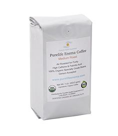 Purelife MoldFree Coffee for Enemas Gerson Recommended 100 Organic Air Roasted for Purity * Click image for more details.
