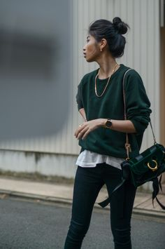 6afc2382861 47 Amazing green sweater outfit images