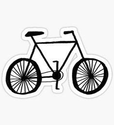 Ride a Bike Sticker
