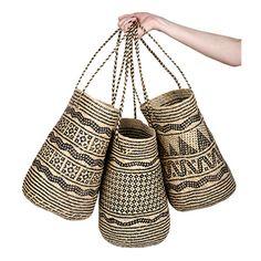 Rattan Borneo Ajat Basket Shopper