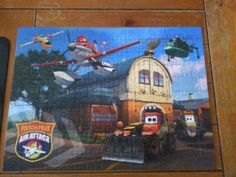 Jenn's Review Blog: Ravensburger Disney Planes Fire & Rescue Puzzle Review and Giveaway