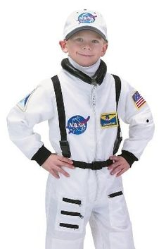 Kid NASA Astronaut Space Camp Halloween Costume « Delay Gifts