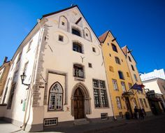 Located in Tallinn's Old Town, The Three Sisters Boutique Hotel offers luxury accommodations in a beautiful century building. Gable Roof, Unique Hotels, Three Sisters, Luxury Accommodation, Reception Areas, 14th Century, Hotel Offers, Old Town, Cosy